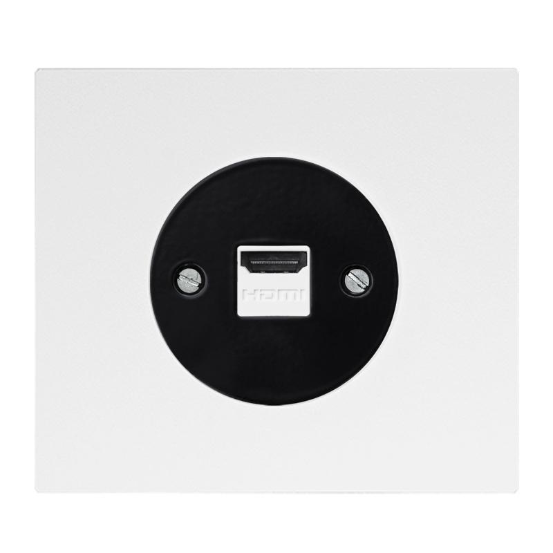 Vectis HDMI pesa valge musta sisuga