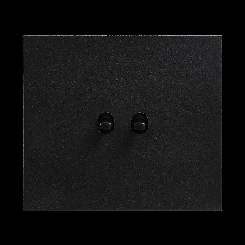 Vectis metallist must kahene lüliti musta nupuga