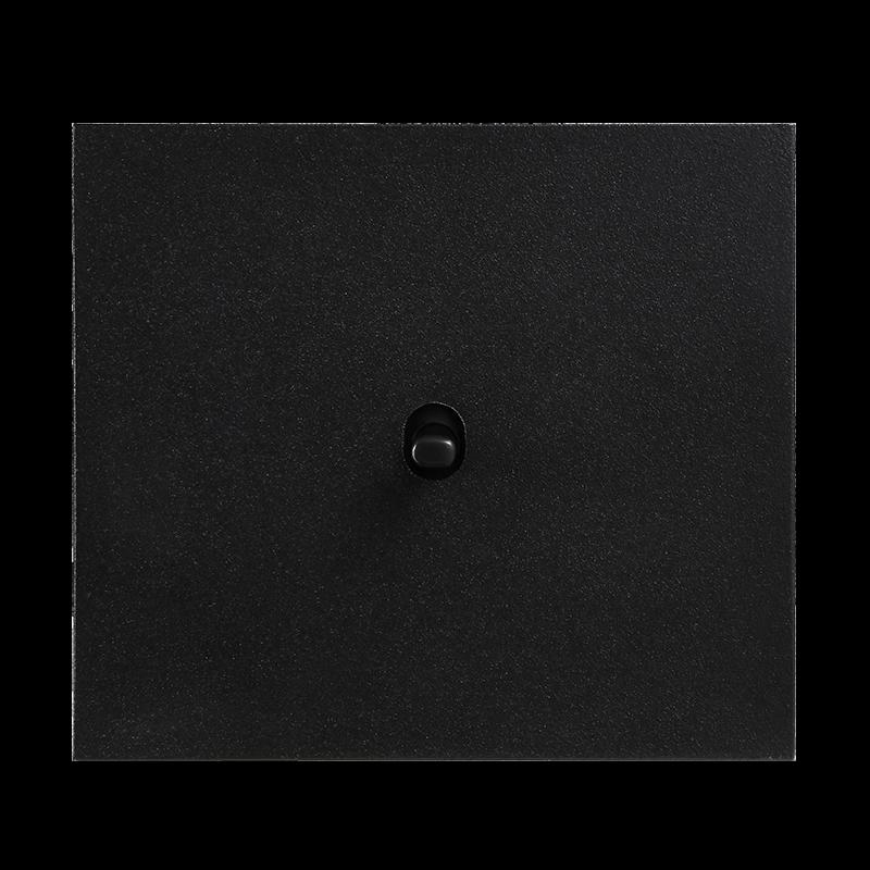 Vectis metallist must ühene lüliti musta nupuga