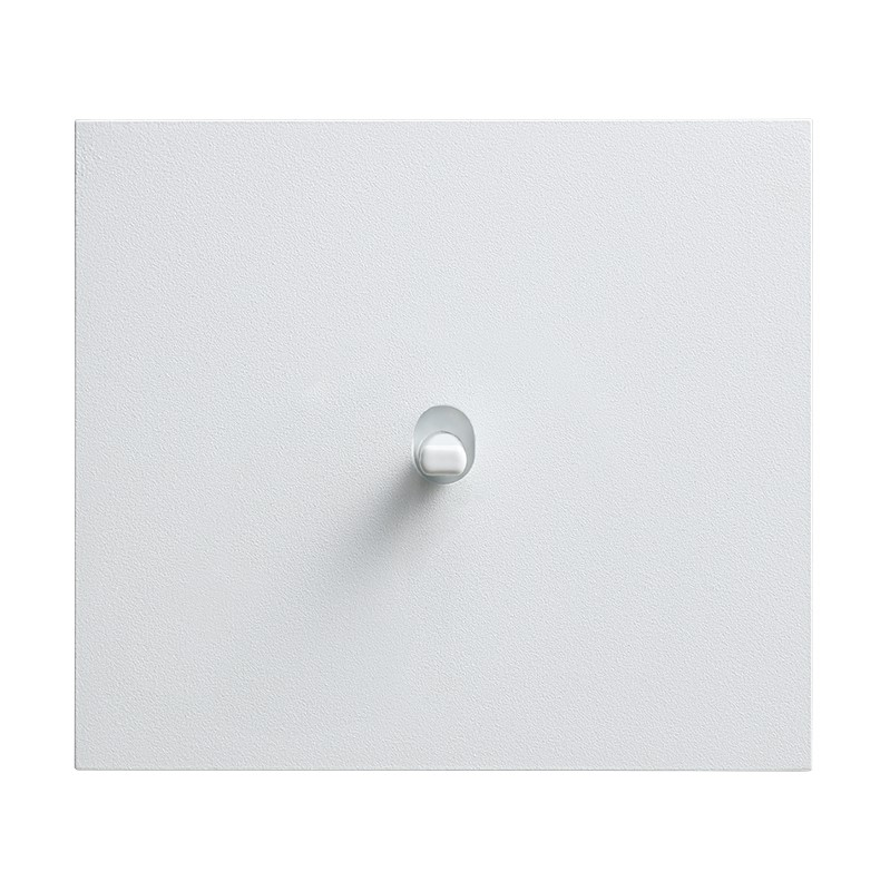 Vectis metallist valge ühene lüliti valge nupuga
