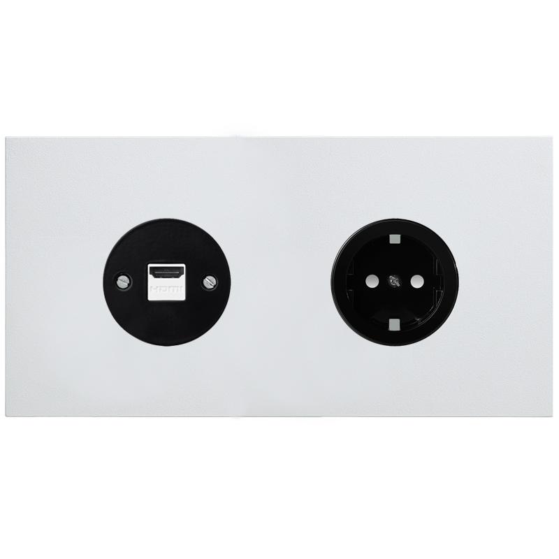 Vectis valge kahene pistikupesa hdmi